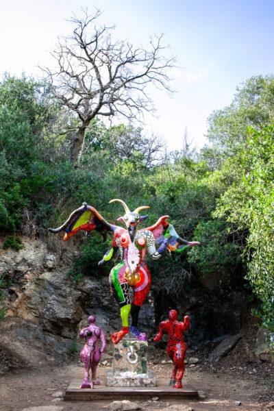 Tarocco del Diavolo - Giardino dei Tarocchi di Capalbio