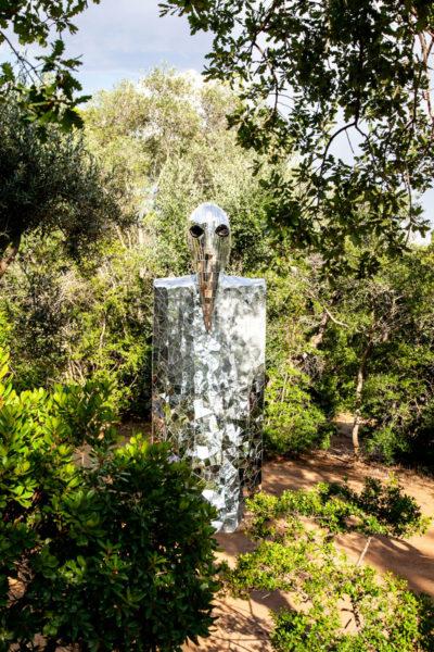 Tarocco del Profeta - Guida alle Statue del Giardino dei Tarocchi