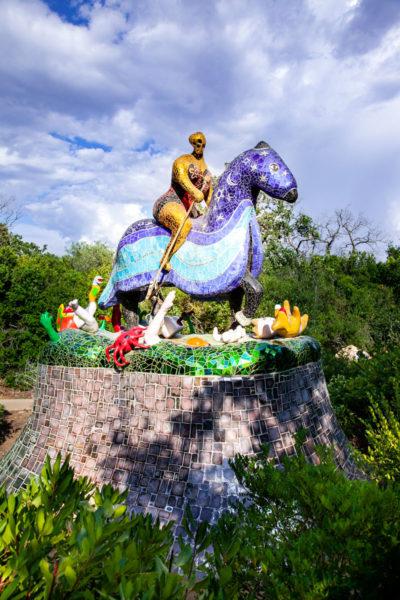 Tarocco della Morte - A cavallo su animali e uomini atterrati dalla Morte