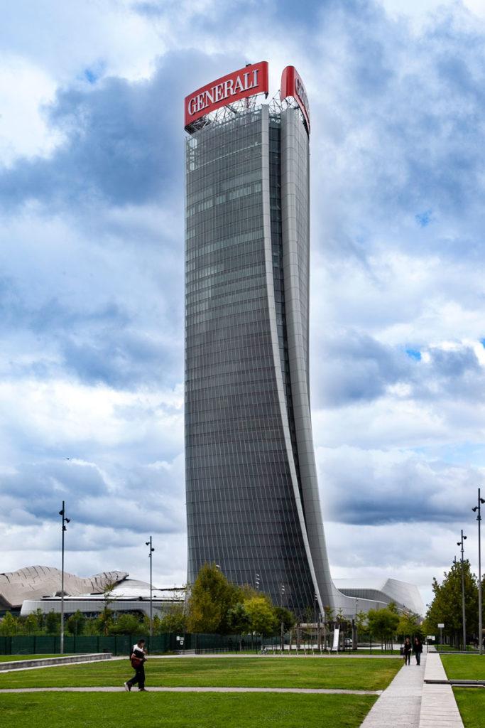 Torre Hadid - Lo storto di CityLife - Torre Generali