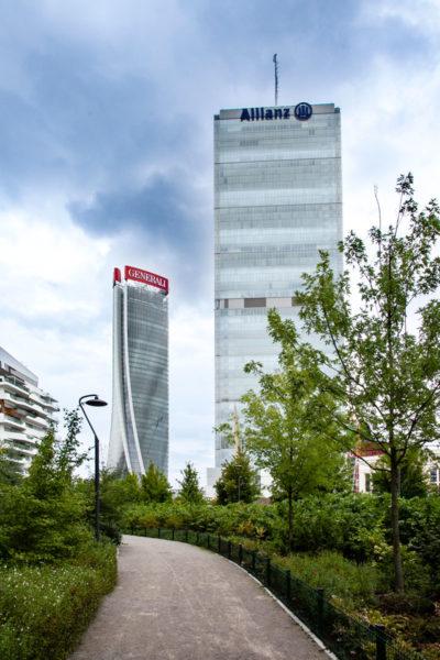 Torre Isozaki - Il Dritto di CityLife - Torre Allianz