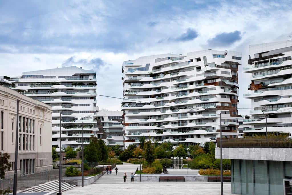 Tre dei Sette Edifici delle Residenze Hadid - Abitazioni di Lusso a Milano