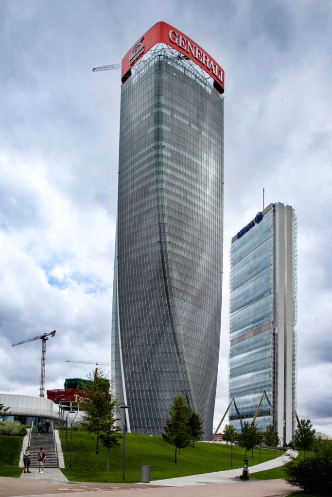 Tre torri - I nuovi grattacieli di Milano
