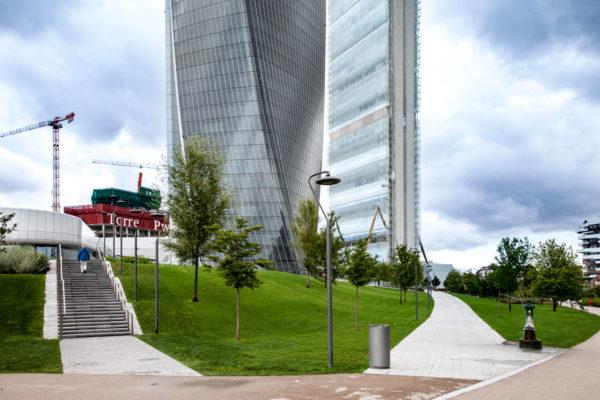 Tre torri di CityLife - Torre Hadid Torre Generali e Torre PwC