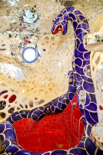 Vasca da Bagno con Specchi e Mosaici