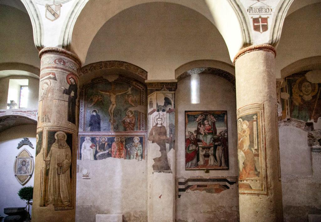 Affreschi nella chiesa di San Giovenale - Cosa vedere ad Orvieto