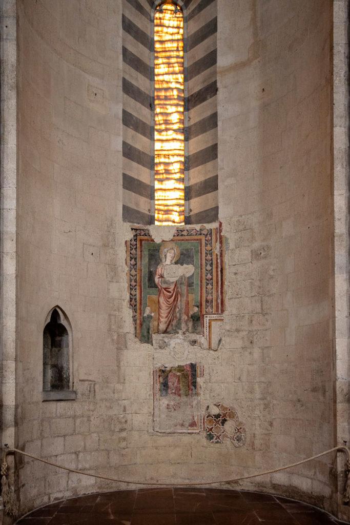 Affreschi storici dentro al Duomo