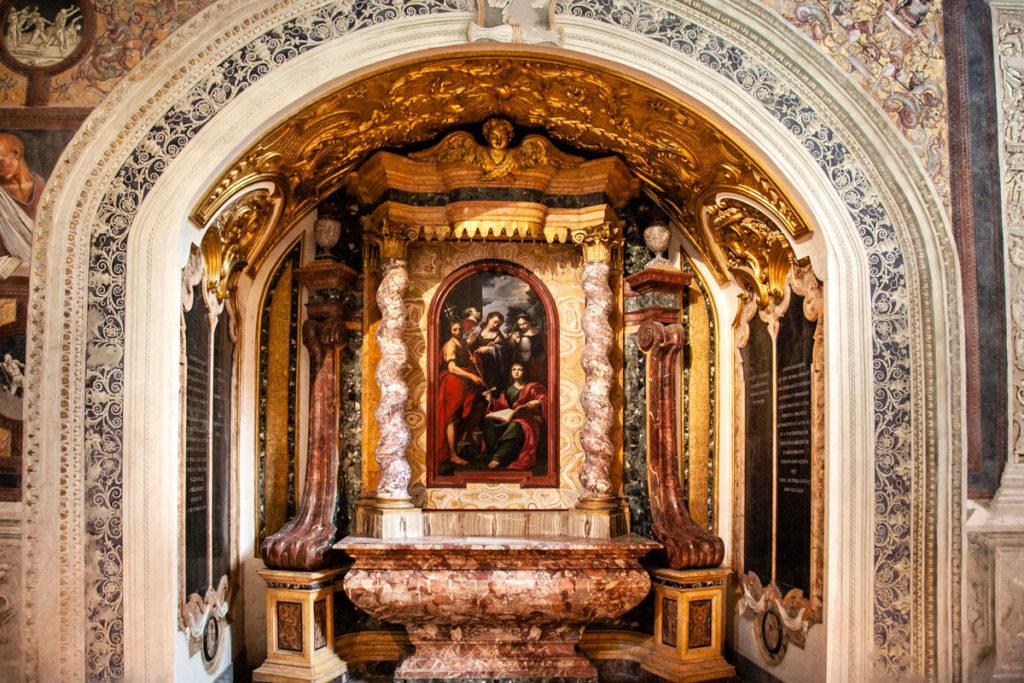 Altare della Cappella di San Brizio