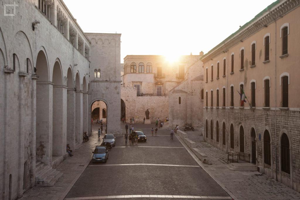 Bari - Basilica di San Nicola al tramonto