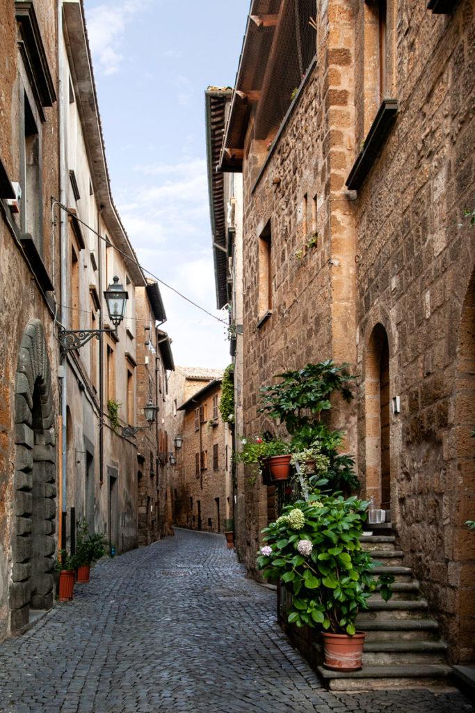 Borgo medievale dentro al centro storico di Orvieto
