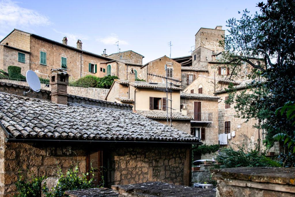 Case Medievali nel centro storico di Orvieto