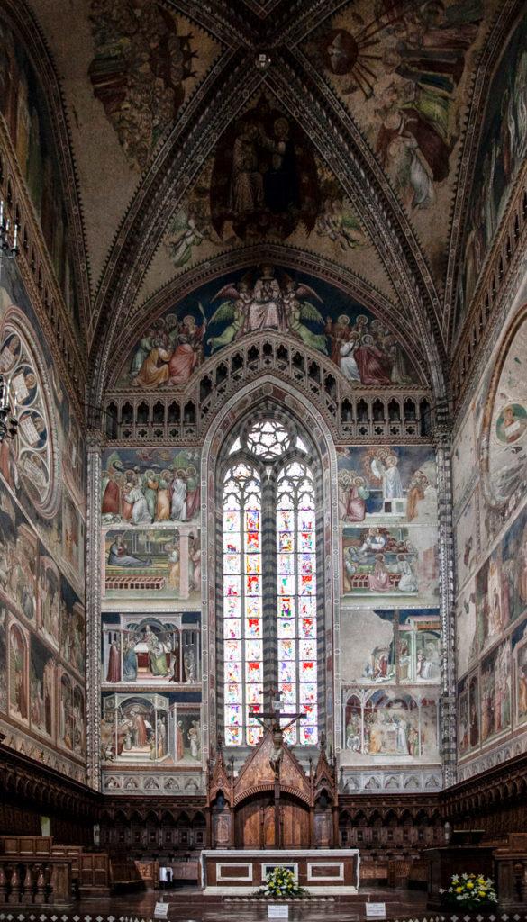 Duomo di Orvieto - Altare Maggiore in Legno