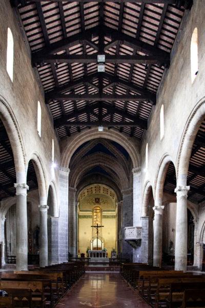Interni della Chiesa di Sant'Andrea di Orvieto