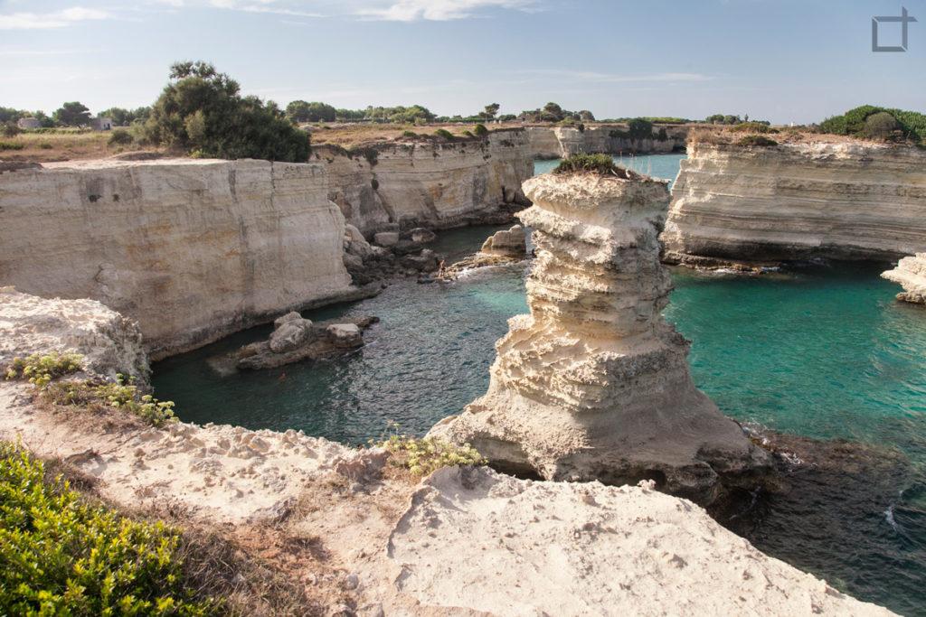 Sant'Andrea di Lecce - Faraglioni e Scogli