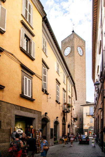 Torre del Moro con Orologio - Cosa vedere a Orvieto