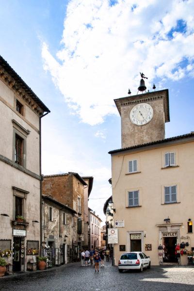 Torre di Maurizio - Vista sul cantiere del Duomo di Orvieto