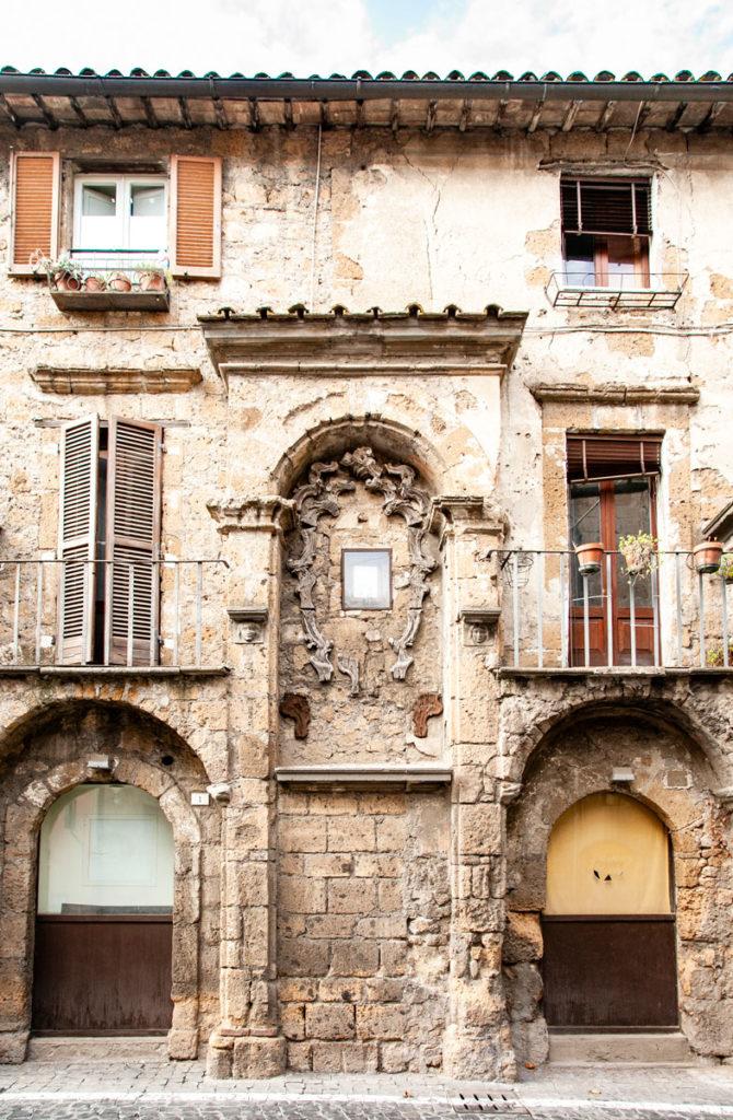 Vecchie case del centro storico