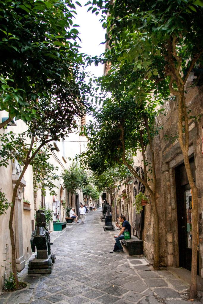 Verde nel centro storico di Orvieto