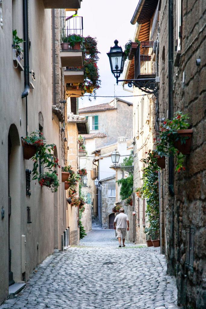 Vicoli del centro storico di Orvieto