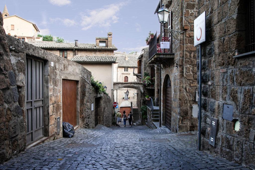 Vicoli medievali in Tuscia - Orvieto