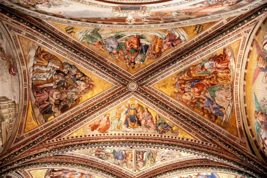 Volte della Cappella di San Brizio