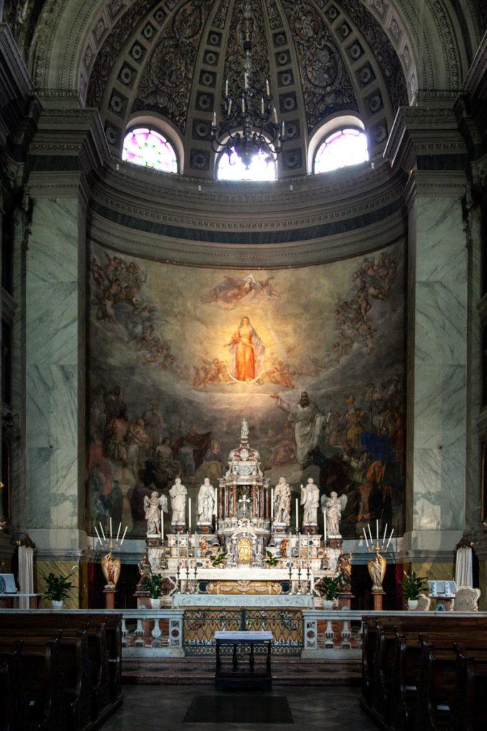 Abside e Altare della Chiesa di Santa Maria Maggiore