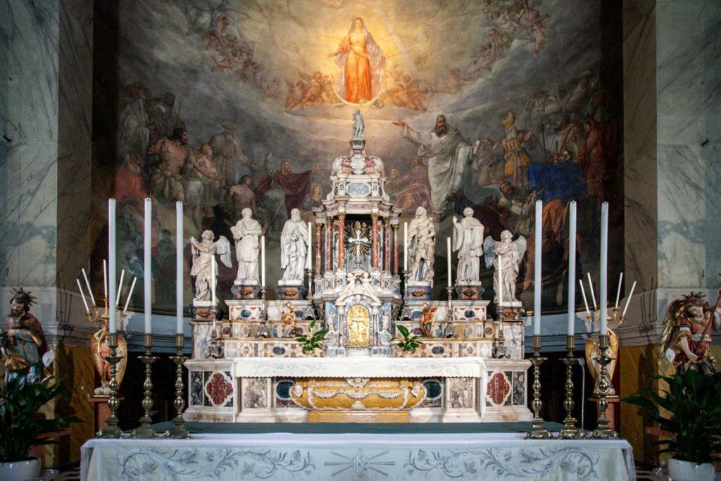 Altare della Chiesa di Santa Maria Maggiore - Trieste