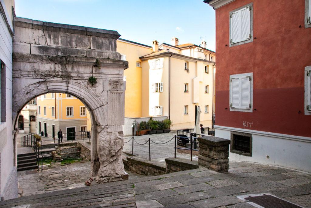 Arco di Riccardo a Trieste