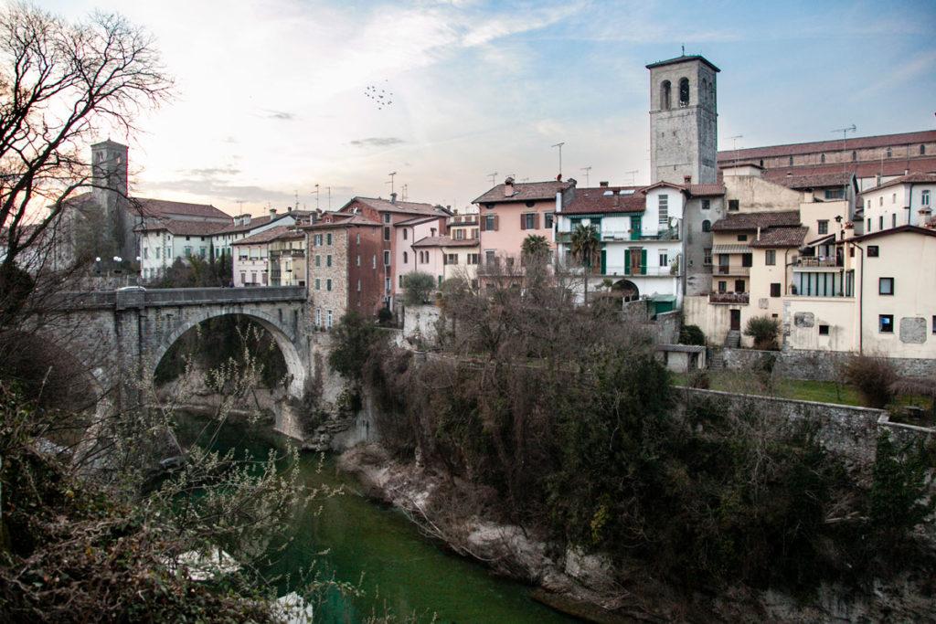 Borgo di Cividale del Friuli - Ponte del Diavolo e Panorama cittadino