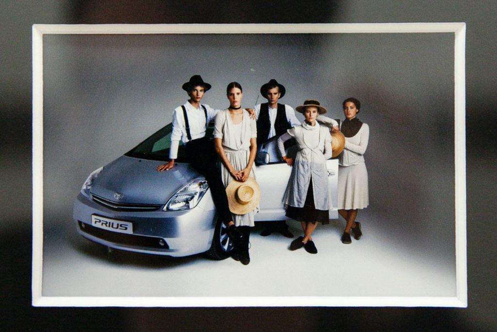 Campagna Pubblicitaria Prius con Amish - Oliviero Toscani a Ravenna