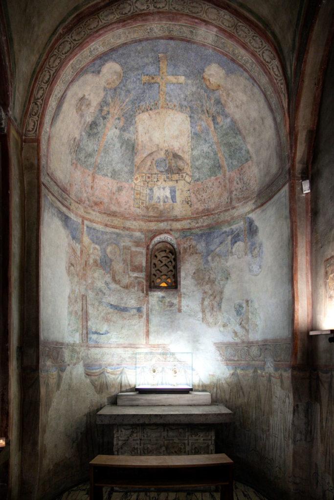 Cappella Affrescata Duomo di Trieste