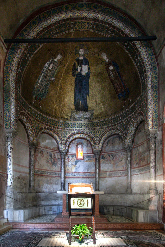 Cappella con mosaico - Arte Bizantina a Trieste