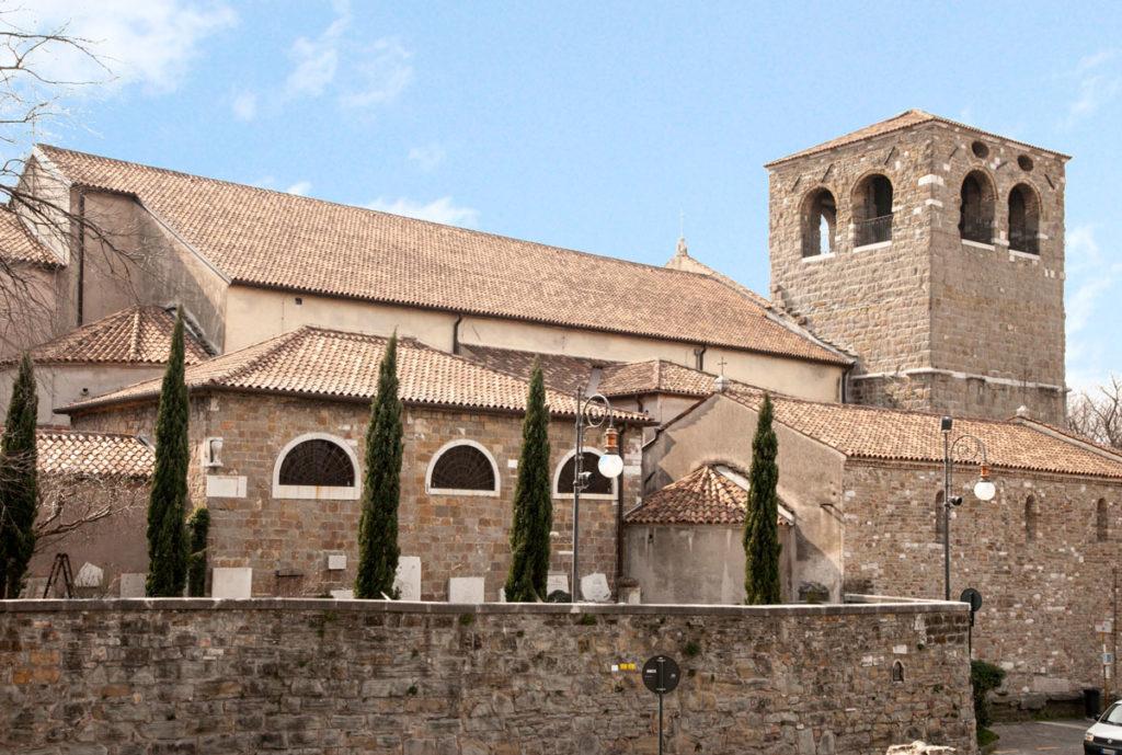 Cattedrale di San Giusto Martire - Unione di due chiese - Duomo di Trieste