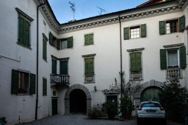 Cortile Interno di Palazzo de Portis