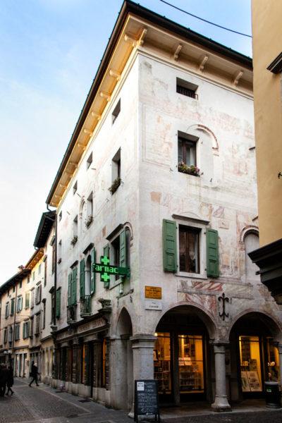 Facciate Affrescate del Palazzo Levrini Stringher - Cividale del Friuli
