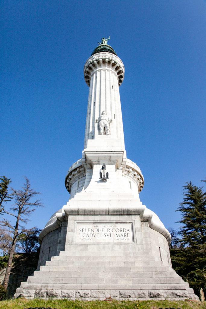 Faro della Vittoria di Trieste - monumento ai caduti in mare della prima guerra mondiale