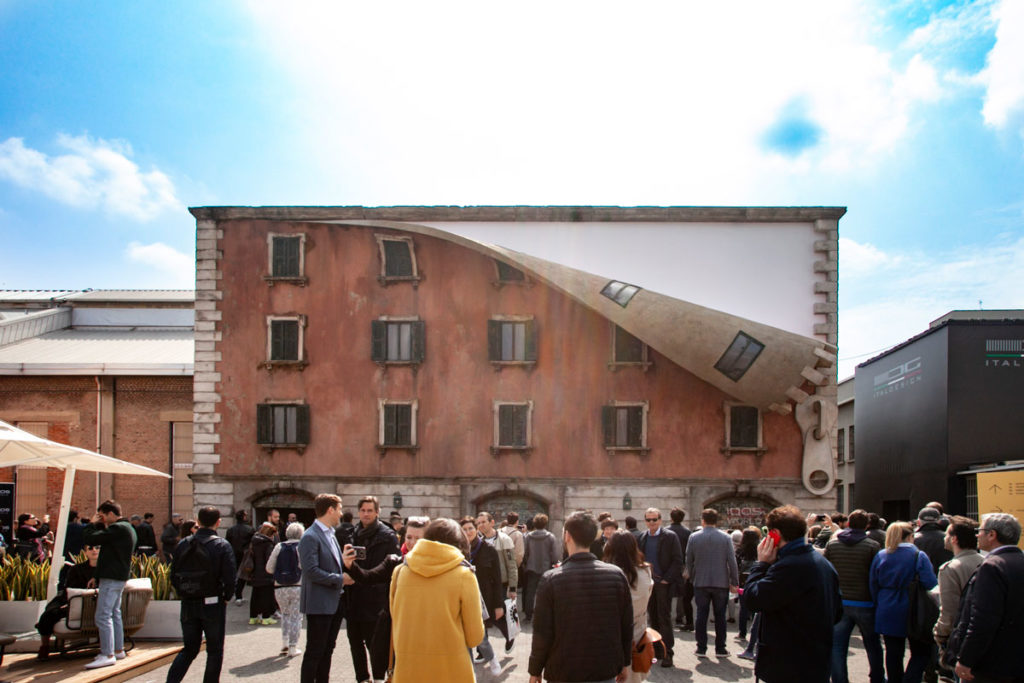 IQOS World Revealed - Alex Chinneck Tortona