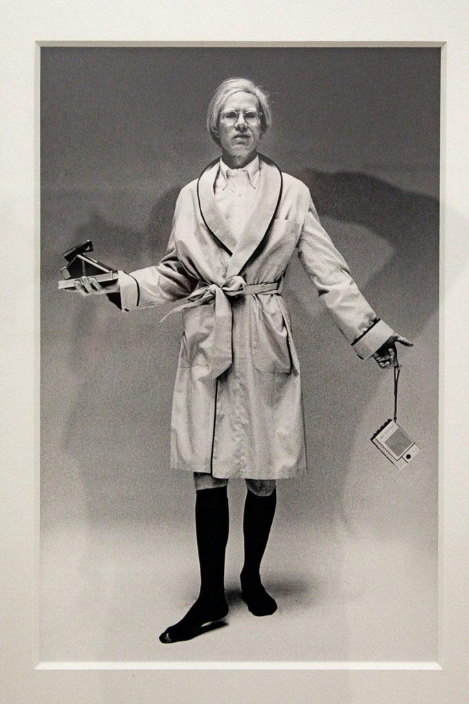 Il focus newyorchese - Andy Warhol ritratto da Oliviero Toscani