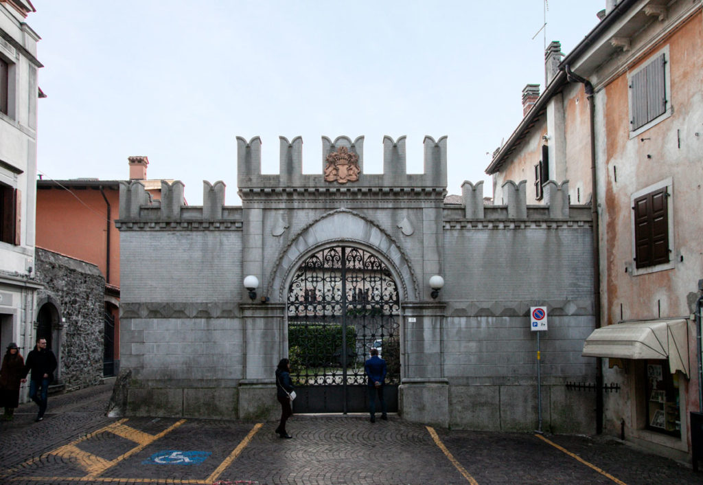 Ingresso al Castello Canussio di Cividale del Friuli
