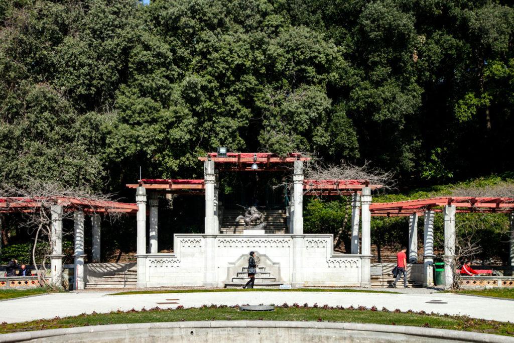 Ingresso al giardino botanico di Miramare - Trieste