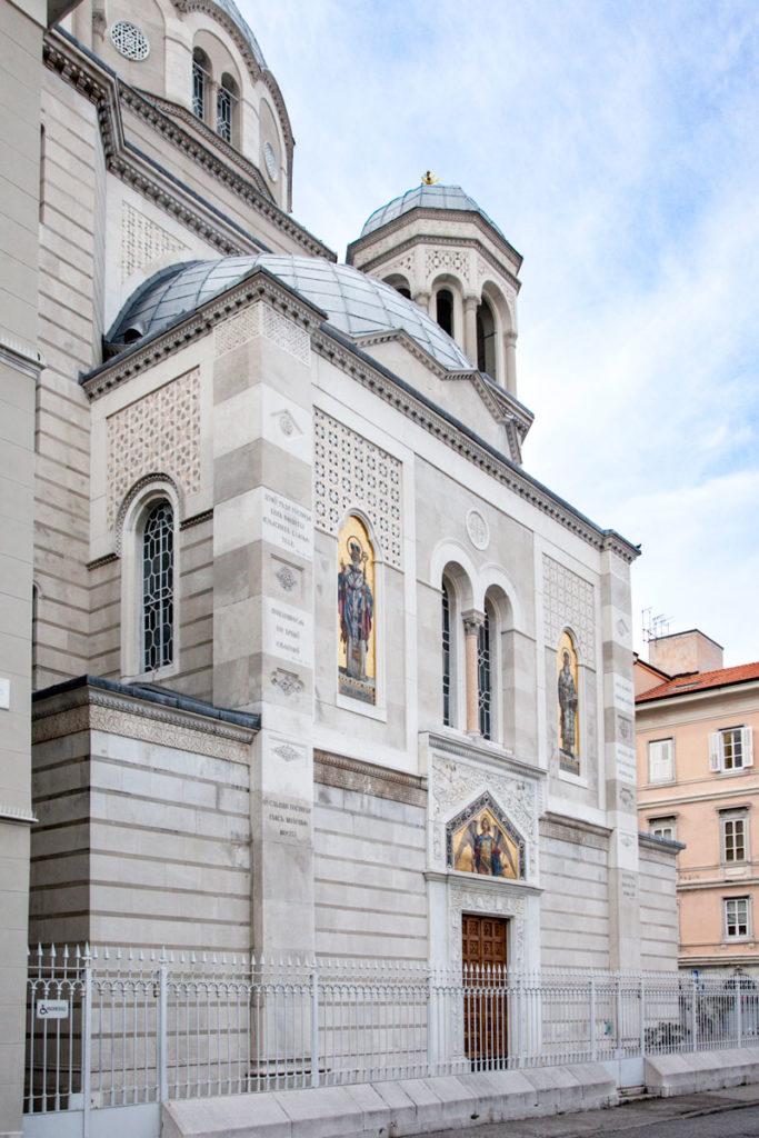 Ingresso alla Chiesa Serbo Ortodossa di San Spiridione