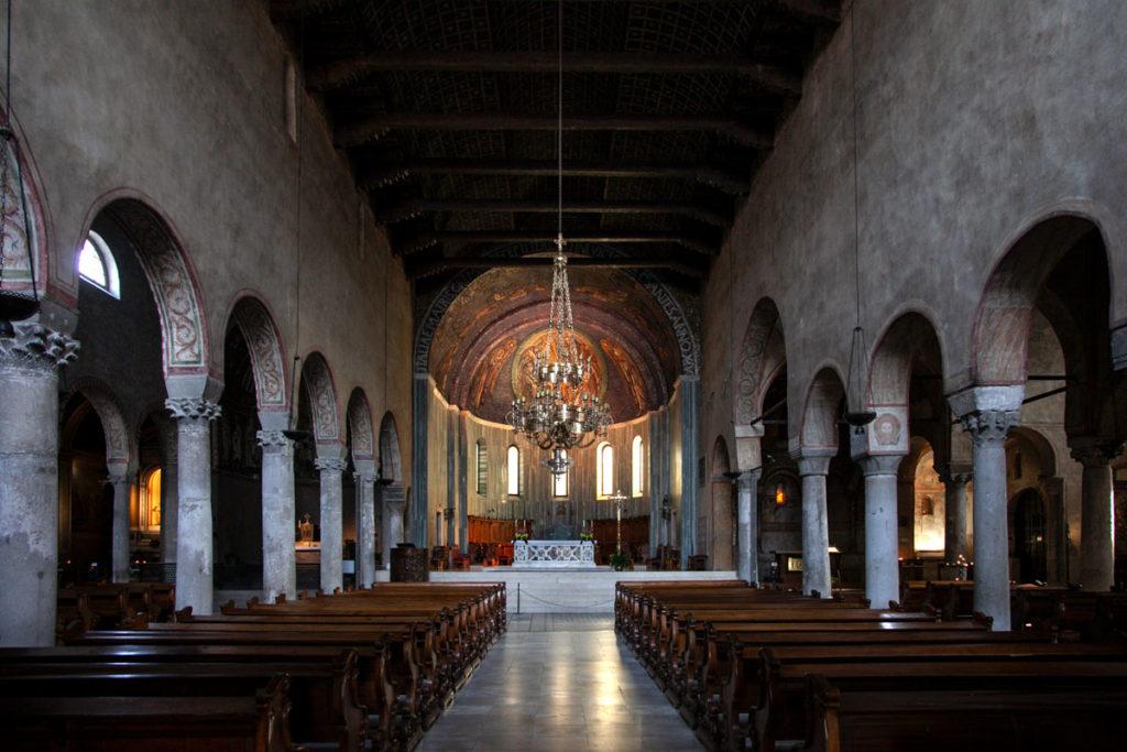 Interni della Cattedrale di San Giusto Martire - Trieste