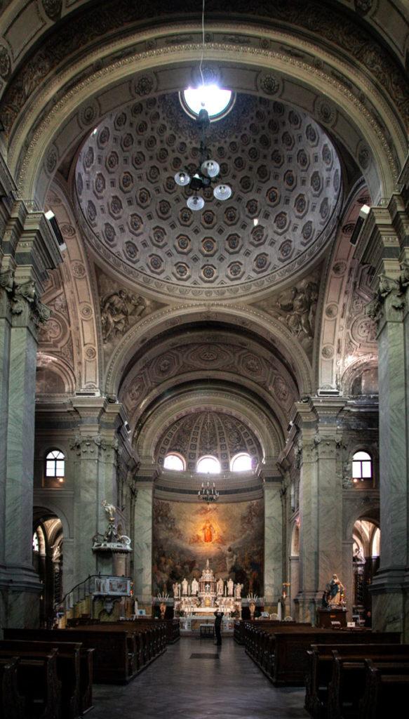 Interni e Cupola della Chiesa di Santa Maria Maggiore a Trieste