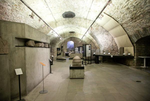 Lapidario Tergestino dentro al Bastione Lalio