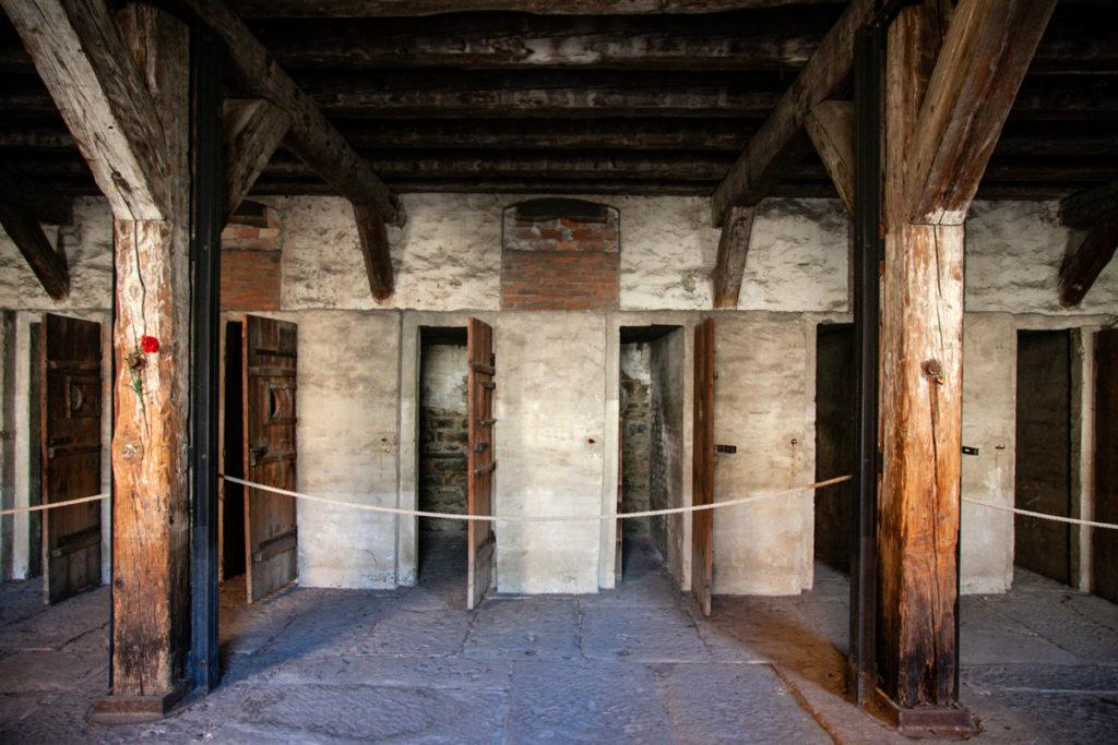Le cellette - prigioni dentro al lager di Trieste