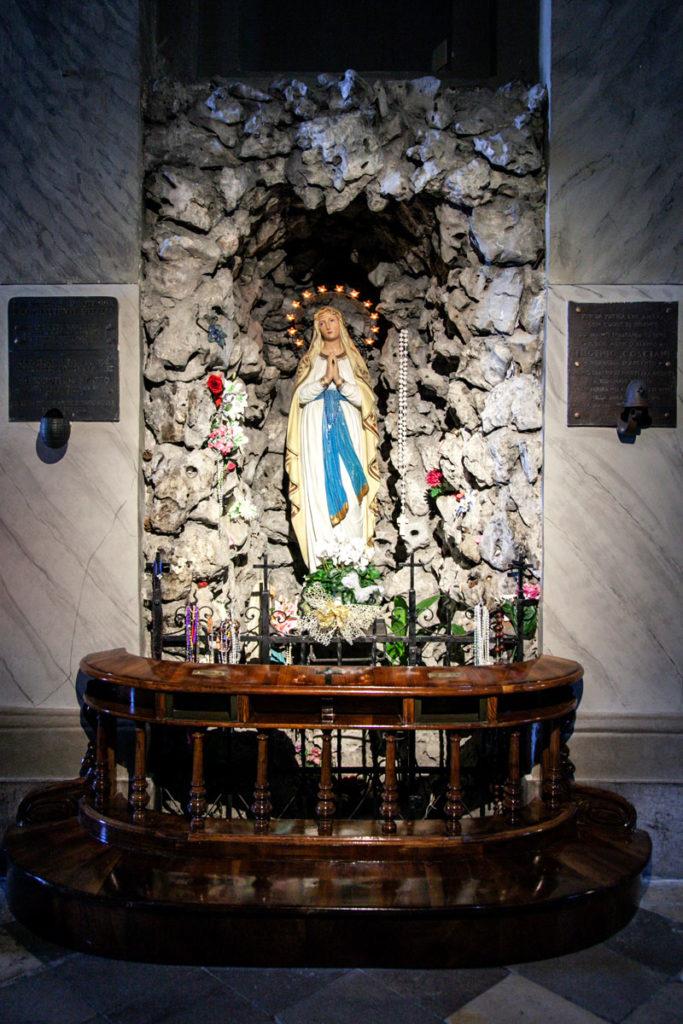 Madonna nella Roccia della chiesa di Santa Maria Maggiore a Trieste