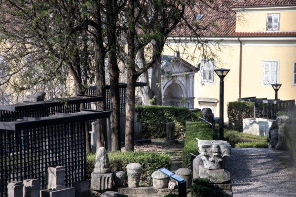 Orto Lapidario - Museo antichità J. J. Winckelmann