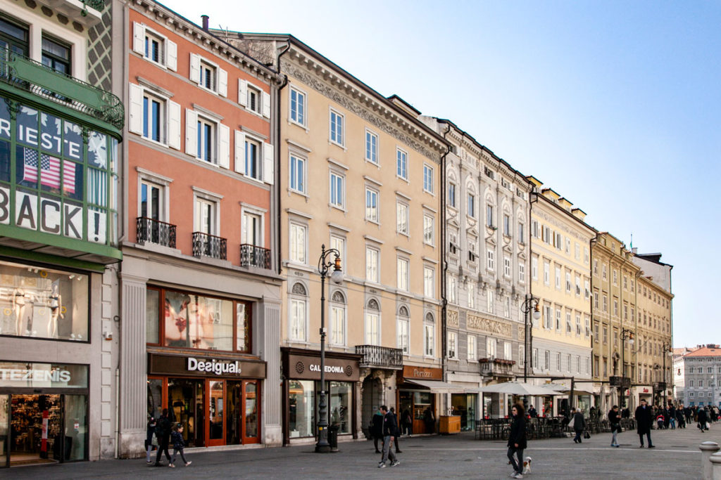 Palazzi Gentili del Centro Storico - Trieste