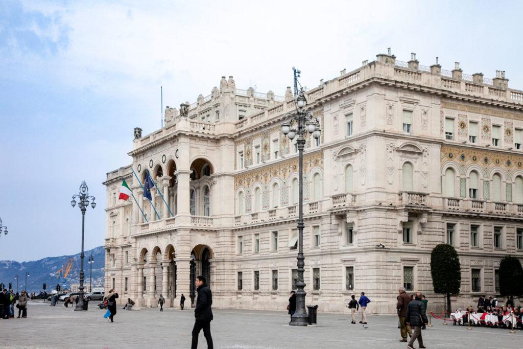 Palazzo del Governo di Trieste in piazza Unità d'Italia