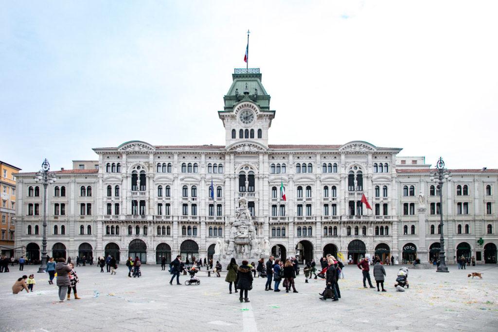 Palazzo del Municipio di Trieste - palazzo Cheba